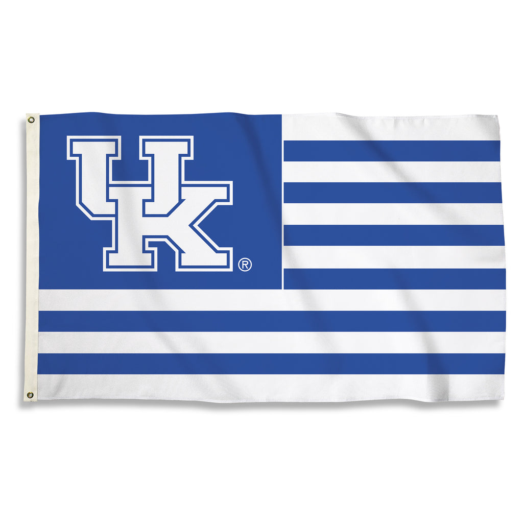 NCAA Officially licensed products Kentucky Wildcats 3 Ft. X 5 Ft. Flag W/Grommets Show everyone that you are a die-hard fan