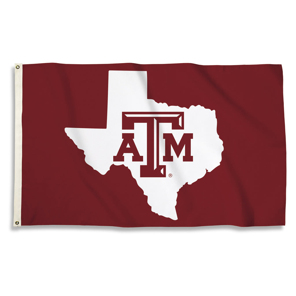 NCAA Officially licensed products Texas A & M Aggies 3 Ft. X 5 Ft. Flag W/Grommets Show everyone that you are a die-hard fan