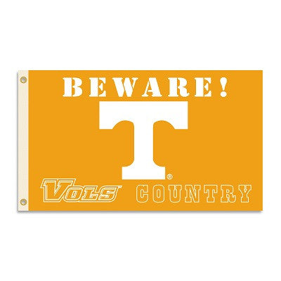 NCAA Officially licensed products Tennessee Volunteers 3 Ft. X 5 Ft. Flag W/Grommets - Country Show everyone that you are a