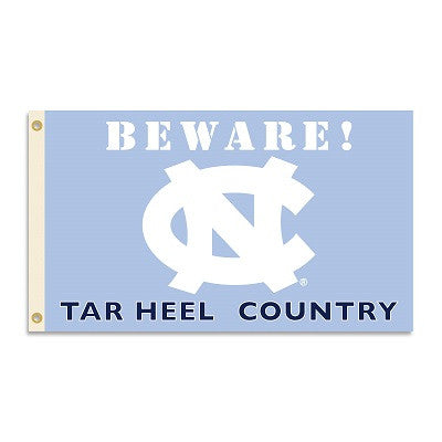NCAA Officially licensed products North Carolina Tar Heels 3 Ft. X 5 Ft. Flag W/Grommets - Country Show everyone that you ar