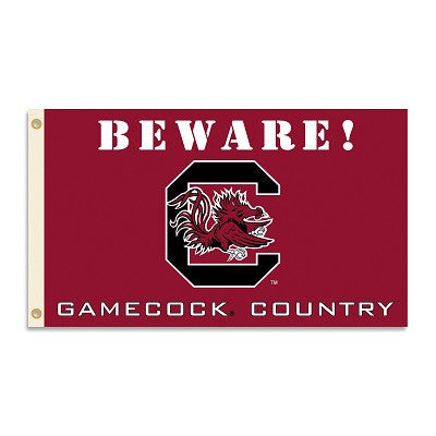 NCAA Officially licensed products South Carolina Gamecocks 3 Ft. X 5 Ft. Flag W/Grommets - Country Show everyone that you ar