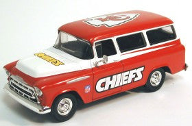 Kansas City Chiefs 1:25 1957 Chevy Suburban