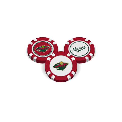 Minnesota Wild Golf Chip with Marker