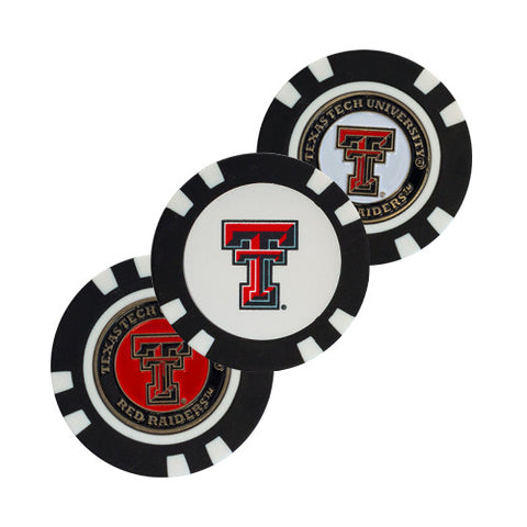 Texas Tech Red Raiders Golf Chip with Marker - Bulk