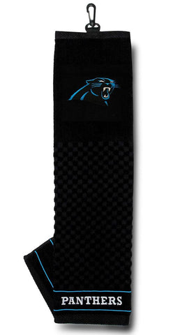 "Carolina Panthers 16""x22"" Embroidered Golf Towel"