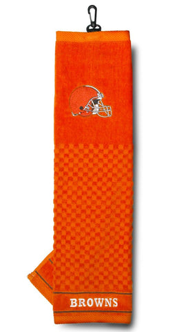 "Cleveland Browns 16""x22"" Embroidered Golf Towel"
