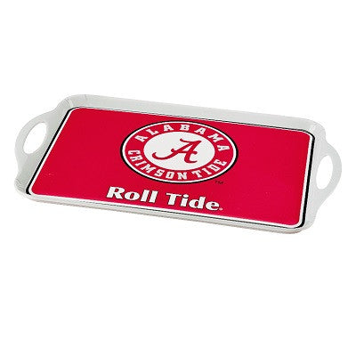 NCAA Officially licensed products Alabama Crimson Tide Melamine Serving Tray Show your team spirit with this durable melamin