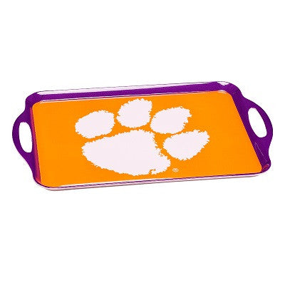 NCAA Officially licensed products Clemson Tigers Melamine Serving Tray Show your team spirit with this durable melamine serv