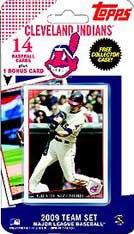 Cleveland Indians 2009 Topps Team Set