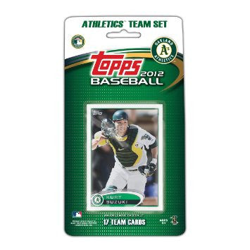 Oakland Athletics 2012 Topps Team Set