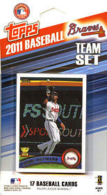 Atlanta Braves 2011 Topps Team Set