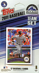 Colorado Rockies 2011 Topps Team Set