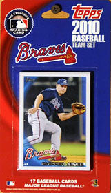 Atlanta Braves 2010 Topps Team Set