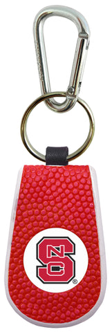 NC State Wolfpack Team Color Basketball Keychain