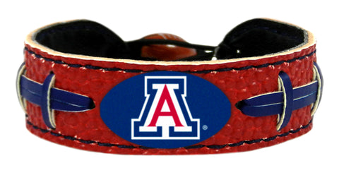 Arizona Wildcats Team Color Football Bracelet