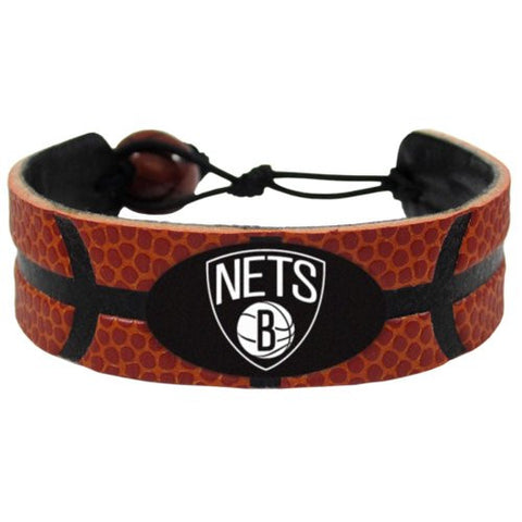 Brooklyn Nets Classic Basketball Bracelet