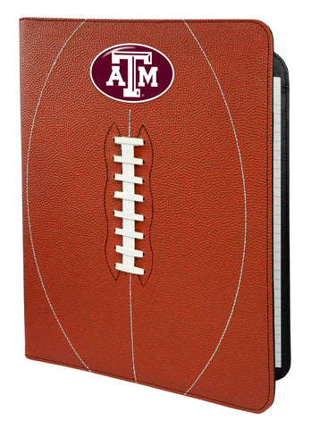 Texas A&M Aggies Classic Football Portfolio - 8.5 in x 11 in