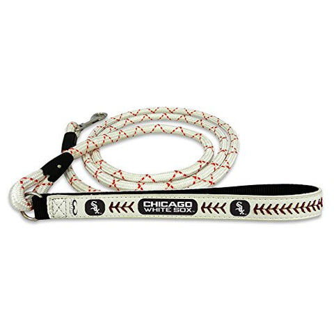 Chicago White Sox Baseball Leather Leash - M