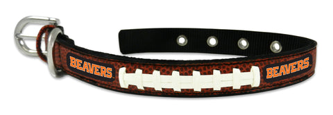 Oregon State Beavers Classic Leather Small Football Collar