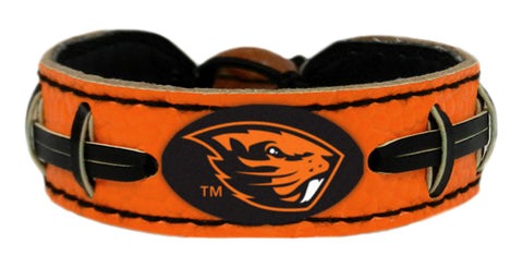 Oregon State Beavers Team Color Football Bracelet