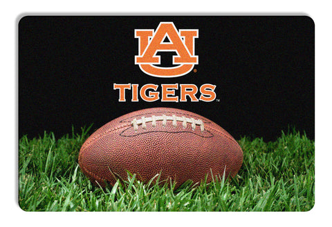 Auburn Tigers Classic  Football Pet Bowl Mat - L