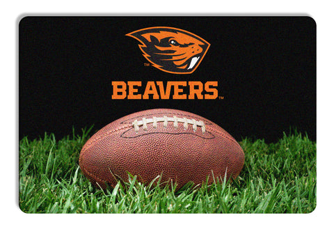 Oregon State Beavers Classic Football Pet Bowl Mat - L
