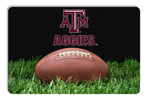 Texas A&M Aggies Classic Football Pet Bowl Mat - L