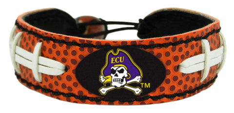 East Carolina Pirates Classic Football Bracelet