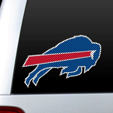 NFL Officially licensed products Buffalo Bills Diecut Window Film  Show your team spirit proudly with this die cut window fi