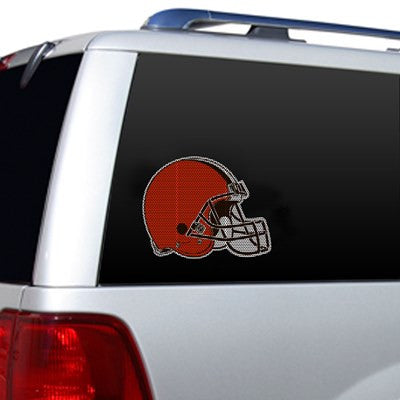 NFL Officially licensed products Cleveland Browns Diecut Window Film  Show your team spirit proudly with this die cut window