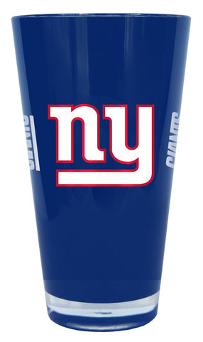New York Giants 20 oz Insulated Plastic Pint Glass