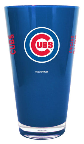 Chicago Cubs 20 oz Insulated Plastic Pint Glass