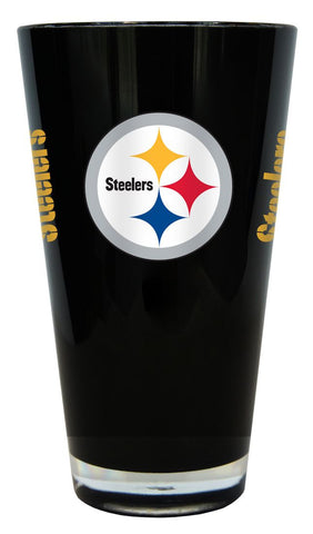 Pittsburgh Steelers 20 oz Insulated Plastic Pint Glass