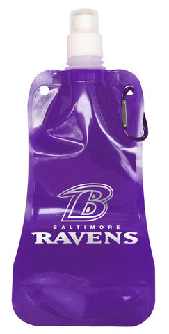 Baltimore Ravens 16 ounce Foldable Water Bottle