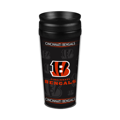 Cincinnati Bengals 14oz. Full Wrap Travel Mug