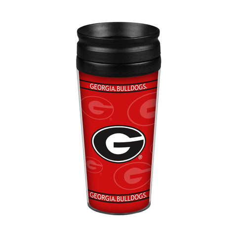 Georgia Bulldogs 14oz. Full Wrap Travel Mug