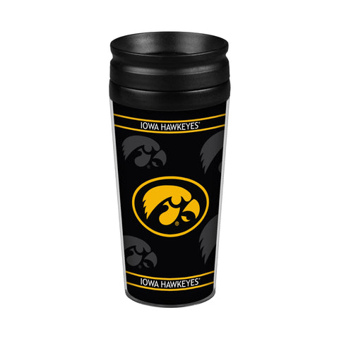 Iowa Hawkeyes 14oz. Full Wrap Travel Mug