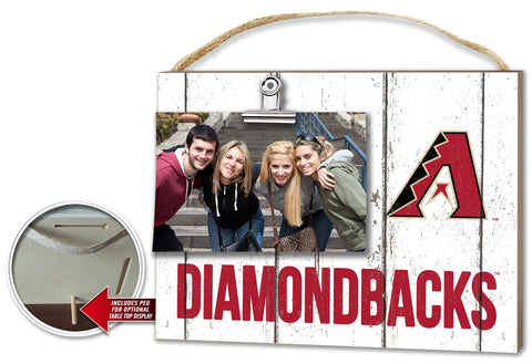 Arizona Diamondbacks Clip It Weathered Logo Photo Frame