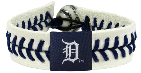 Detroit Tigers Authentic Baseball Bracelet