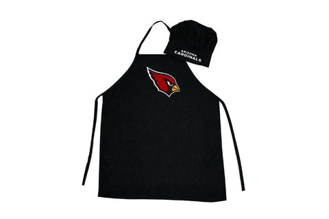 Arizona Cardinals Apron and Chef Hat Set