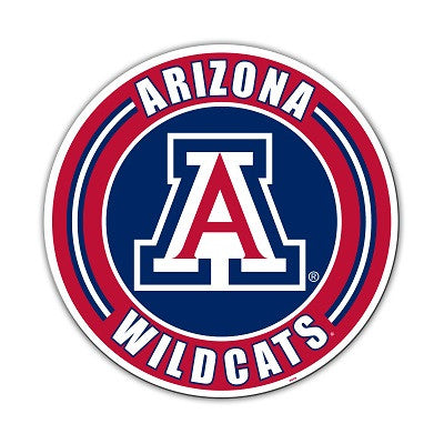 "NCAA Officially licensed products Arizona Wildcats Vinyl Magnet Show your team spirit proudly with this  12"" Vinyl Magnet. E"