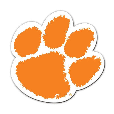 "NCAA Officially licensed products Clemson Tigers Vinyl Magnet Show your team spirit proudly with this  12"" Vinyl Magnet. Eac"