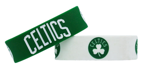 Boston Celtics Bracelets - 2 Pack Wide
