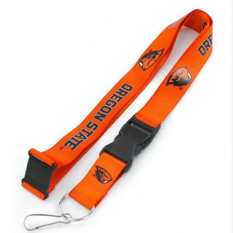 Oregon State Beavers Lanyard - Orange