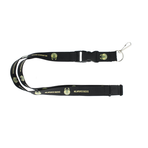 Milwaukee Bucks Lanyard - Black