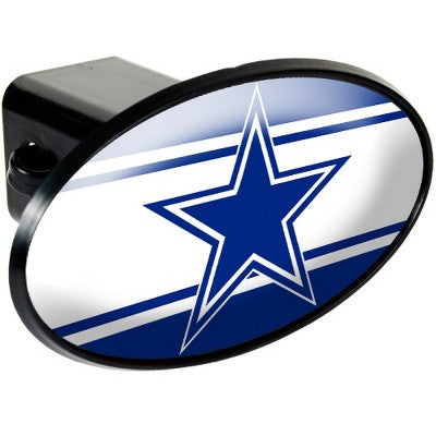 NFL Officially licensed products Dallas Cowboys Oval Trailer Hitch Cover After you've unhooked your rig, add some gridiron f