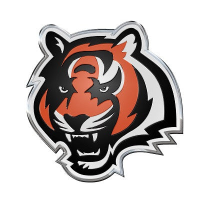 NFL Officially licensed products Cincinnati Bengals Color Team Emblem These emblems are made out of light weight aluminum fo