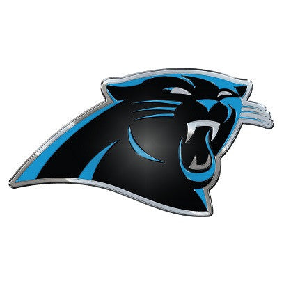 NFL Officially licensed products Carolina Panthers Color Team Emblem These emblems are made out of light weight aluminum for