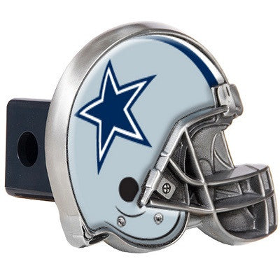 NFL Officially licensed products Dallas Cowboys Helmet Trailer Hitch Cover After you've unhooked your rig, add some gridiron