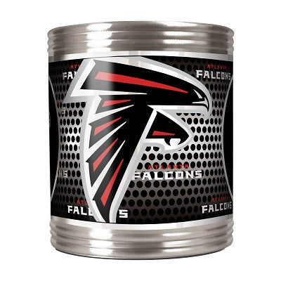 NFL Officially licensed products Atlanta Falcons Stainless Steel Can Holder with Metallic Graphics This officially licensed